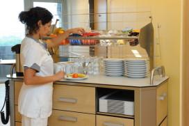 Broodserveerwagen krikt cijfer maaltijdvoorziening omhoog