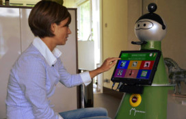 Sociale robot houdt oudere mensen zelfstandig en actief