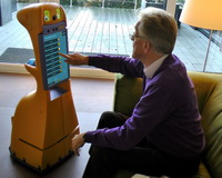 Robot voor mensen met beginnende dementie