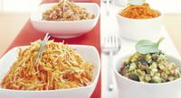 Salades en pasta: mensen zien graag wat ze eten