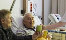 Patiëntwelzijn- en tevredenheid het meest bepaald door…