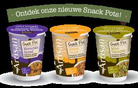 Artisan Grains blaast Snack Pots nieuw leven in