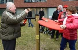 Beweegtuin voor ouderen geopend in Eindhoven
