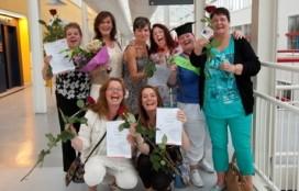 Medewerkers Flevoziekenhuis ontvangen diploma foodservice