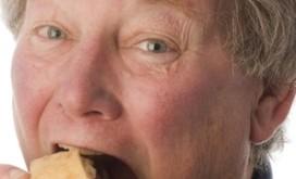 Brood met varkenshaar als ontbijt