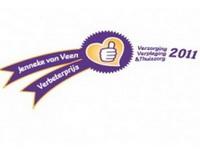 Jenneke van Veen Verbeterprijs dit jaar voor ouderenzorg