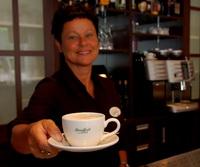 Horecamatige benadering voor koffie, thee en patisserie
