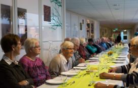 Langste eettafel van Nederland staat in Drachten