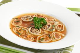 Proef de vernieuwde soepen van Honig Professional