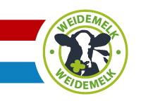 Melk van Hollandse koeien