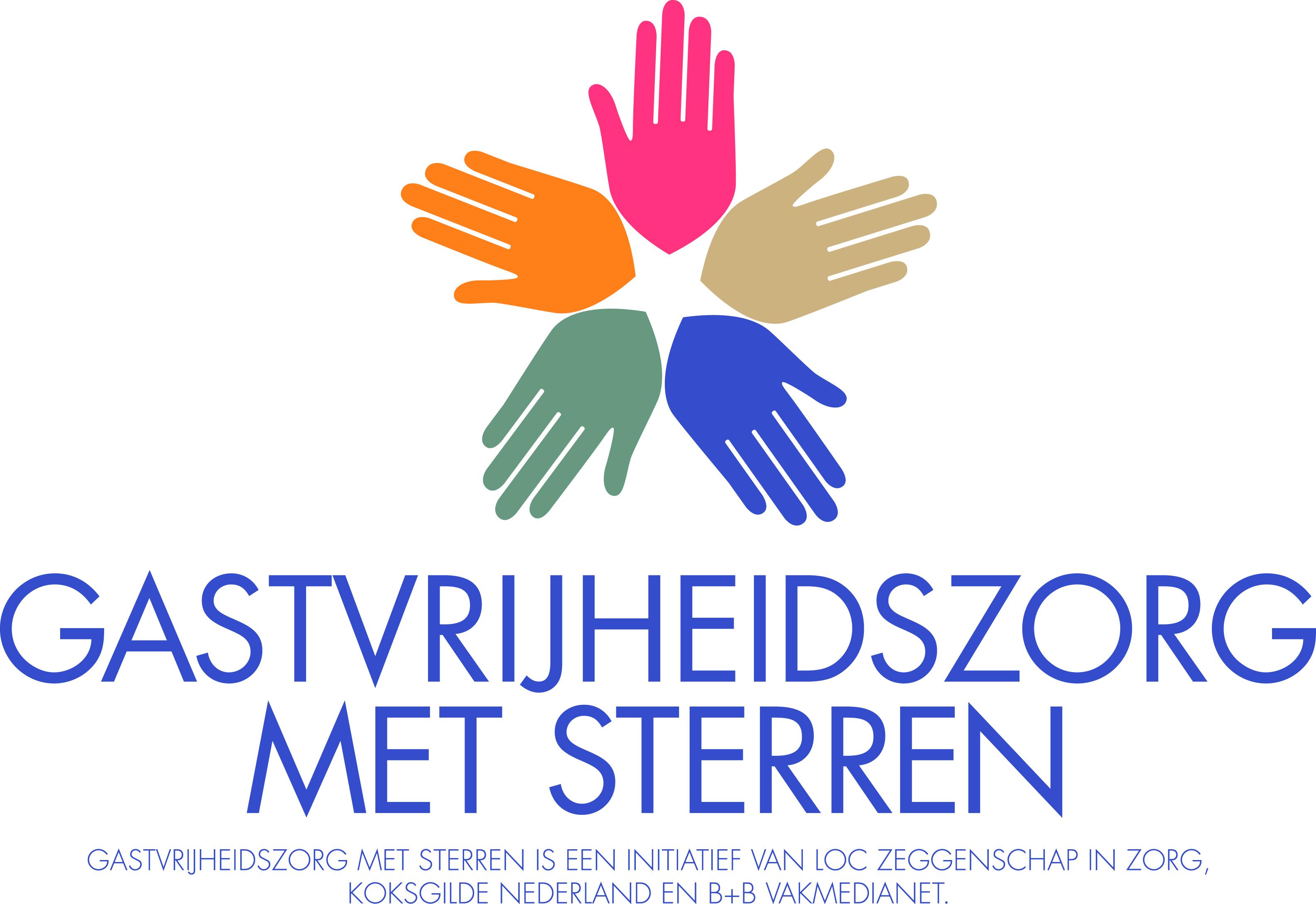 Logo Gastvrijheidszorg met Sterren
