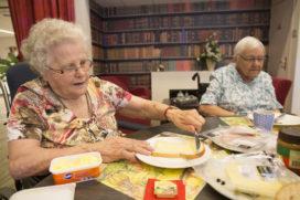 Ontbijt in het zorgrestaurant tegen vereenzaming