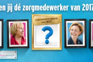 Finalisten verkiezing Zorgmedewerker 2017 bekend