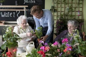 Belevingsgerichte zorg dementie: opbloeien in de Tuinkamer