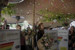 Fan Factory reikt eerste Fan-ergie labels uit