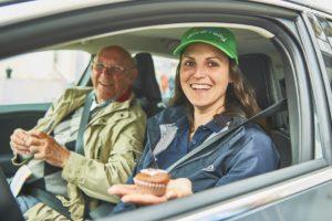 Ouderen racen door Eindhoven