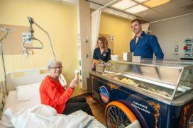Eitwitrijk ijs voor ondervoede patiënten Groene Hart Ziekenhuis