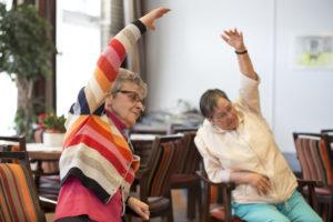 Belevingsgerichte zorg ouderen: bewegen op muziek